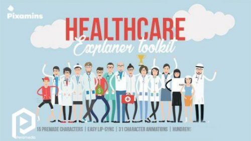انیمیشن پزشکی مسطح و کارتونی