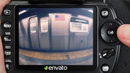 ترنزیشن در قاب دوربین دیجیتال