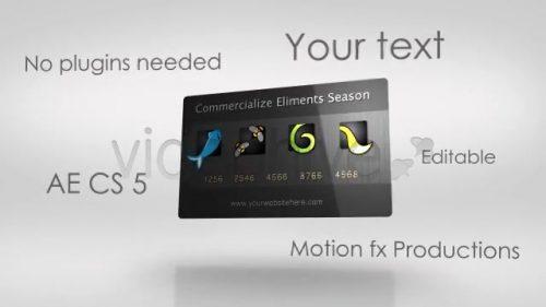 ویدیو آغازین خلاق نمایش محصولات و برند شرکتی