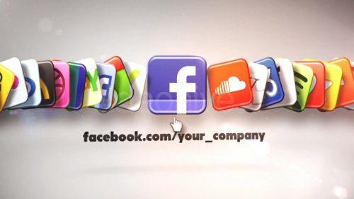 آیکون براق شبکههای اجتماعی