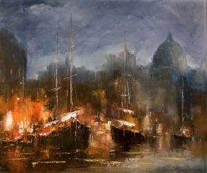 نقاشی قایق ها