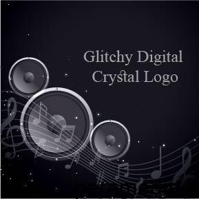 فایل صوتی Glitchy Digital Crystal Logo 07