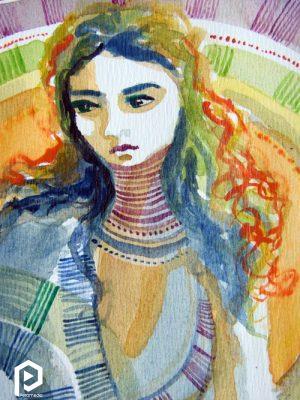 نقاشی میرتل گریان