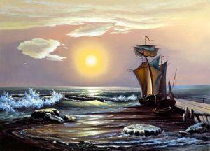 نقاشی سفر به نورلند