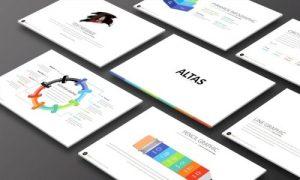 قالب پاورپوینت Altas با اسلاید های متنوع