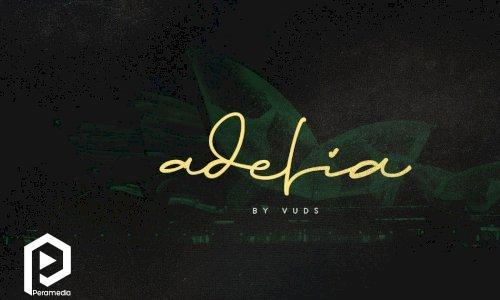 فونت انگلیسی دستنویس  Adelia