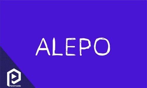 فونت انگلیسی Alepo