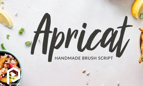 فونت انگلیسی Apricat Script