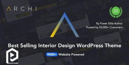 تم وردپرس مخصوص طراحی داخلی Archia