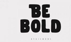 فونت انگلیسی Be Bold