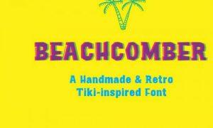 فونت انگلیسی Beachcomber