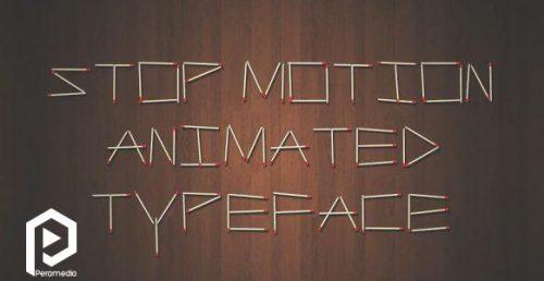 انیمیشن نوشته ها به صورت استاپ موشن ۱