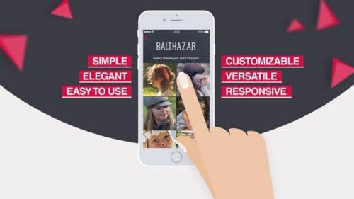 آگهی تبلیغاتی معرفی اپلیکیشن موبایل