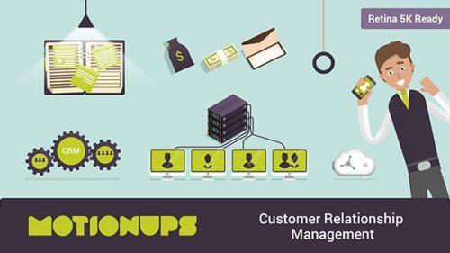 اسلاید نمایشی بازاریابی و مدیریت ارتباط مشتری