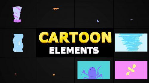 انیمیشن پک اشکال پویا و کارتونی