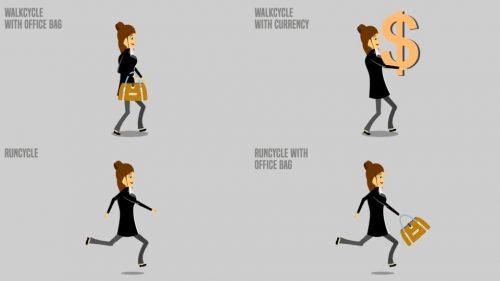 آگهی تبلیغاتی کارمندان خانم و کوشا