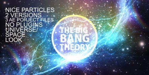 لوگو موشن انبوه ذرات نورانی ۲