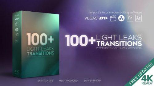ترنزیشن بازی نور ۴K برای پریمیر