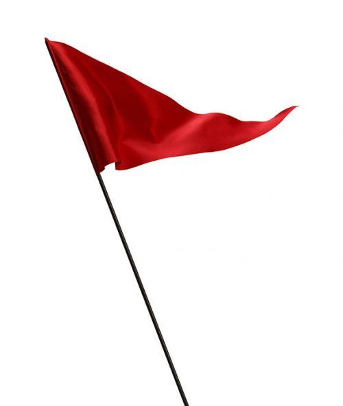 پرچم ساده قرمز